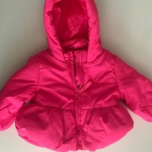 Other - Baby girl snow jacket in hot pink. 6Months